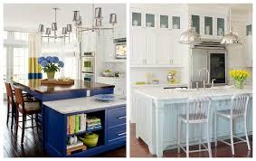cuisine bleue et blanche modele de cuisine en bleu idée de modèle de cuisine