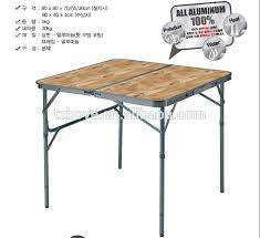 Bbq Tables Outdoor Furniture by Korean Style 2 Fold Up Slim Camping Bbq Table Outdoor Buy Korean