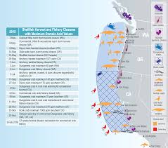 Map Of Washington Coast by Ocean Conditions Contributed To Unprecedented 2015 Toxic Algal
