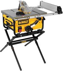 dewalt 10 portable table saw dewalt table saw with folding stand bundle is on sale