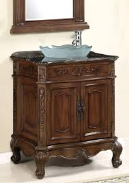 Bathroom Vanity With Top Combo by Bathroom Traditional Bathroom Vanity With Brown Wooden Materials