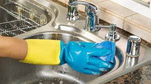 how to clean a kitchen sink cleaning kitchen sink free online home decor techhungry us
