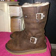 s sutter ugg boots toast 63 ugg boots sutter ugg leather boots from cayla s closet
