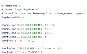 iclemens budget master www htaccess htaccess file