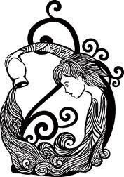 as with most zodiac tattoos part of the of an aquarius