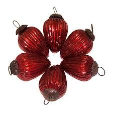Glass Christmas Ornament Sets - giftbay 100 s 6 glass christmas tree ornament set of 6 pcs an antiqu