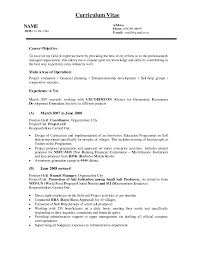 Retail Department Manager Resume Operations And Sales Manager Resume Objectives For Retail Managem