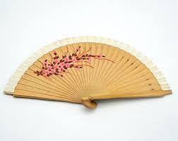bamboo fan bamboo fan etsy