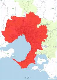 Councils Of Melbourne Map Greater Melbourne Map And Zones State Revenue Office