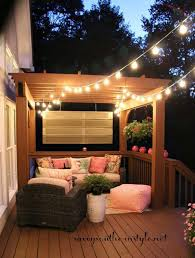 Fall Patio 27 Diy String Lights Ideas For Fall Porch And Yard Amazing Diy