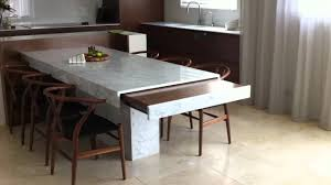 Kitchen Extension Design Remote Controlled Extension Table Minosa Kitchen Design Youtube