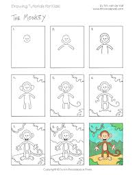 easy drawing tutorials for kids printable drawing lessons