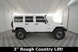 white jeep wrangler unlimited lifted jeep wrangler lifted in florida for sale used cars on buysellsearch