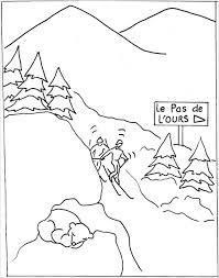 Montagne 6 Nature  Coloriages à imprimer
