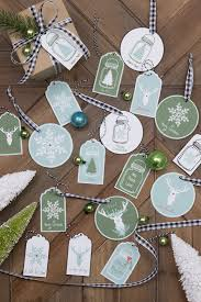 free printable gift tags ornaments finding