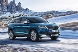 skoda kodiaq interior new skoda kodiaq scout to start from 32 330 auto express