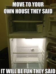 Fridge Meme - empty refrigerator justpost virtually entertaining