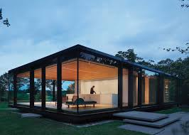 glass box architecture desai chia creates a glass box home in rural new york state box