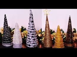 diy cone table decors for new year ornaments