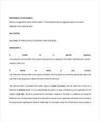 recommendation letter 9 free word pdf documents download