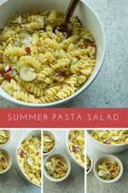 easy pasta salad summer pasta salad easy recipes grill season side dish