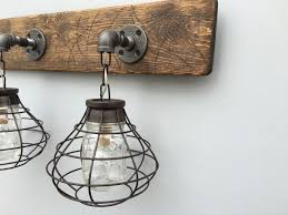nice industrial vanity light industrial vanity light fixtures