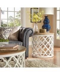 Quatrefoil Side Table Deal Alert Verona Home Tansey Reclaimed Wood Quatrefoil Accent