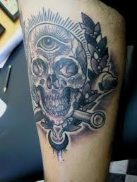 mechanic tattoos wrench cross tattoo pictures to pin on pinterest tattooskid