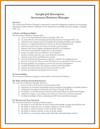 Cna Description For Resume Tax Accountant Job Description Resume Resume Ideas