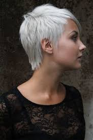funky hairstyle for silver hair short hair with silver and purple highlights google search