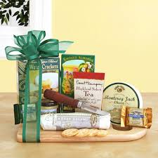 Wine And Cheese Gifts Cheeseboard Complete Gift Basket Wine Enthusiast