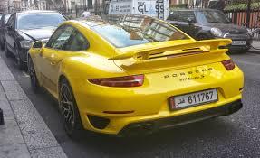 yellow porsche file yellow porsche 911 turbo s 991 rl london2014 jpg