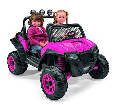pink jeep bed amazon com peg perego polaris rzr 900 ride on pink toys u0026 games