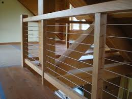 Wood Banisters And Railings Best 25 Cable Railing Ideas On Pinterest Loft Railing Banister