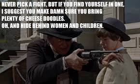 Fight Meme - image rooster cogbern meme never pick a fight but if you find