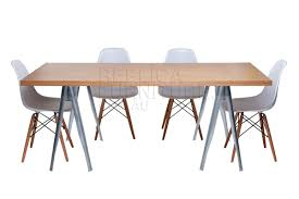 Modern Classic Furniture Trestle Dining Table Extravagant Home Design