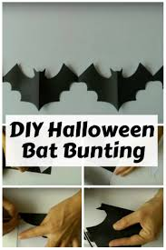 diy halloween bat bunting the budget diet