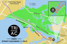 Coverage Map Sprint Atlantic City Triathlon