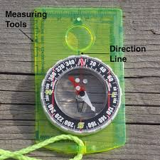 Magnetic Declination Map The Compass And Declination Just Trails
