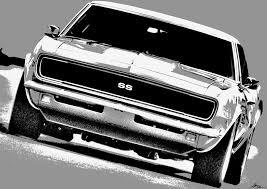 silver ss camaro 1969 chevy camaro ss silver photograph by gordon dean ii