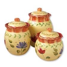 kitchen yellow canisters wine decor ideas canister sets