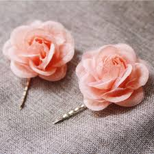 flower hair pins flower hair pin bridal hair pins wedding hair accessories flower