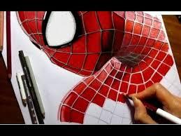 speed drawing of the amazing spider man 2 jasmina susak youtube