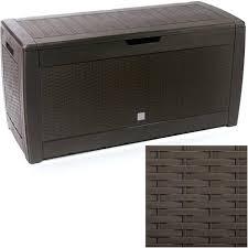Outdoor Storage Cabinet Garden Storage Garden Storage Box Rattan Effect Garden And Outdoor