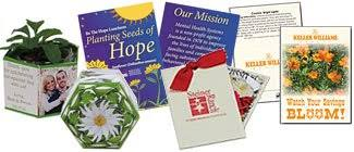 flower seed packets forget me not seed packets custom promotional products by printglobe