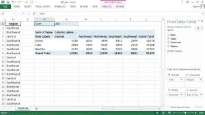 Pivot Table In Excel 2013 10 Steps To Adding A Timeline To An Excel 2013 Pivottable