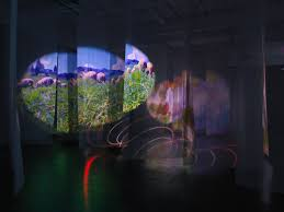 new museum light exhibit pipilotti rist pixel forest new museum