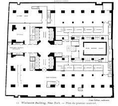 skyscraper floor plan woolworth building plan google u0027da ara skyscraper pinterest