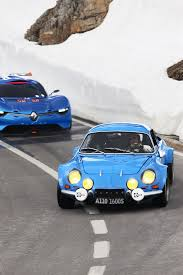 renault alpine classic renault alpine a110 50 on the roads in the alps 2012 mad 4 wheels