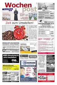 G Stige K Hen L Form Die Wochenpost U2013 Kw 33 By Sdz Medien Issuu